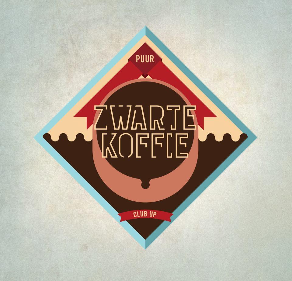 Zwarte Koffie Logo