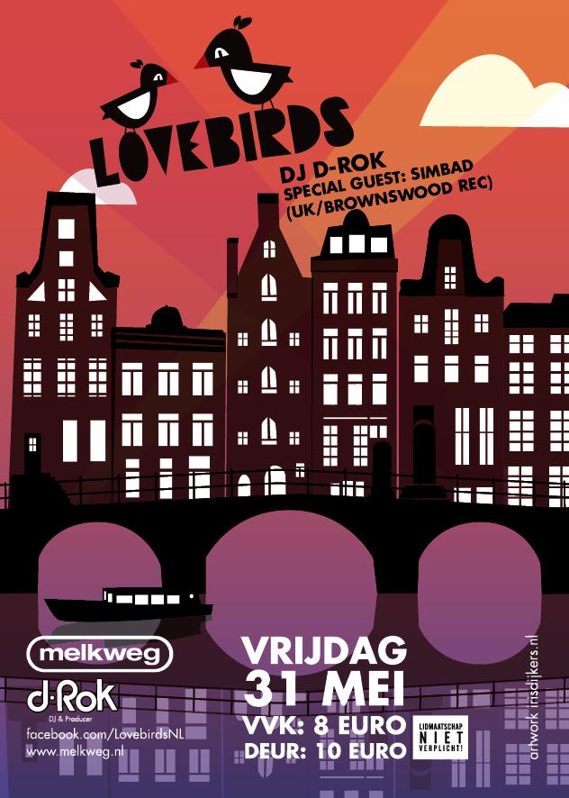 Lovebirds @ Melkweg vrijdag 31 mei